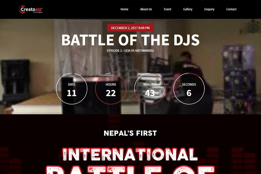 theme nepal portfolio creatoa2z
