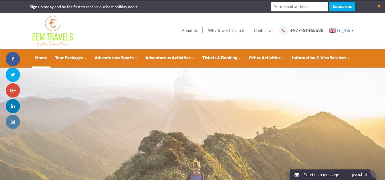 themenepal portfolio eem travels pokhara