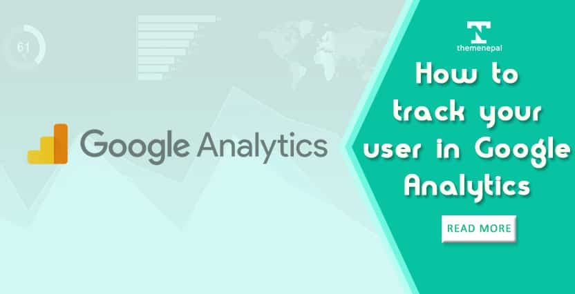 How to track your user in Google Analytics