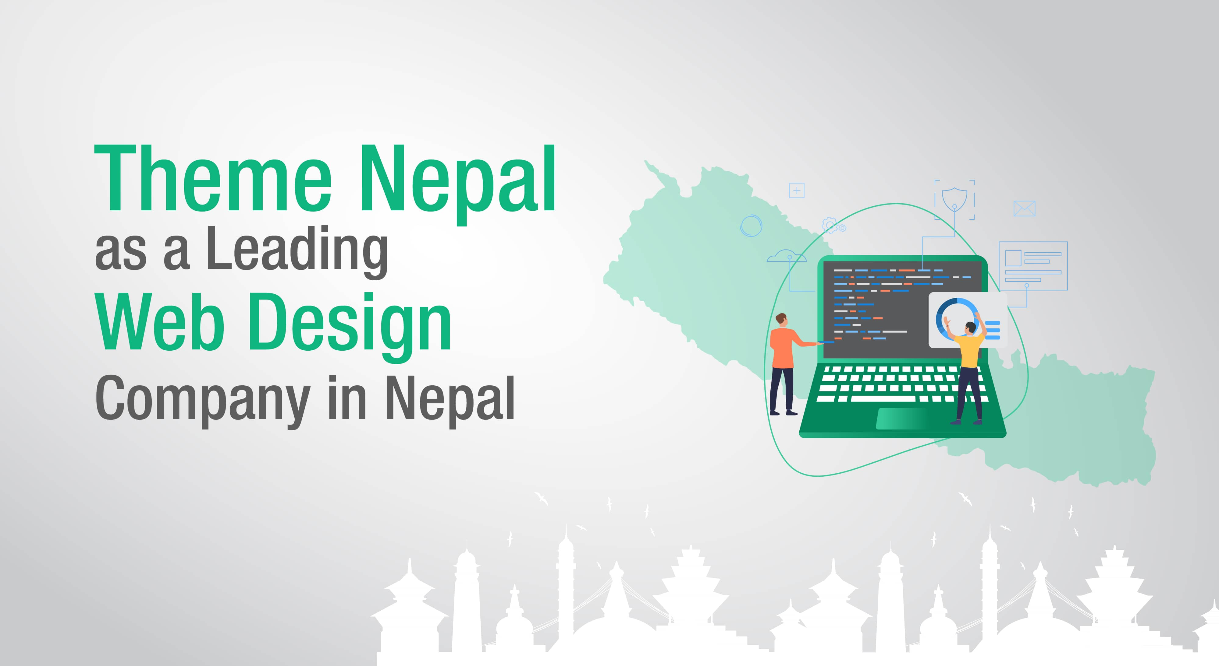 theme nepal as a leading web design company in nepal