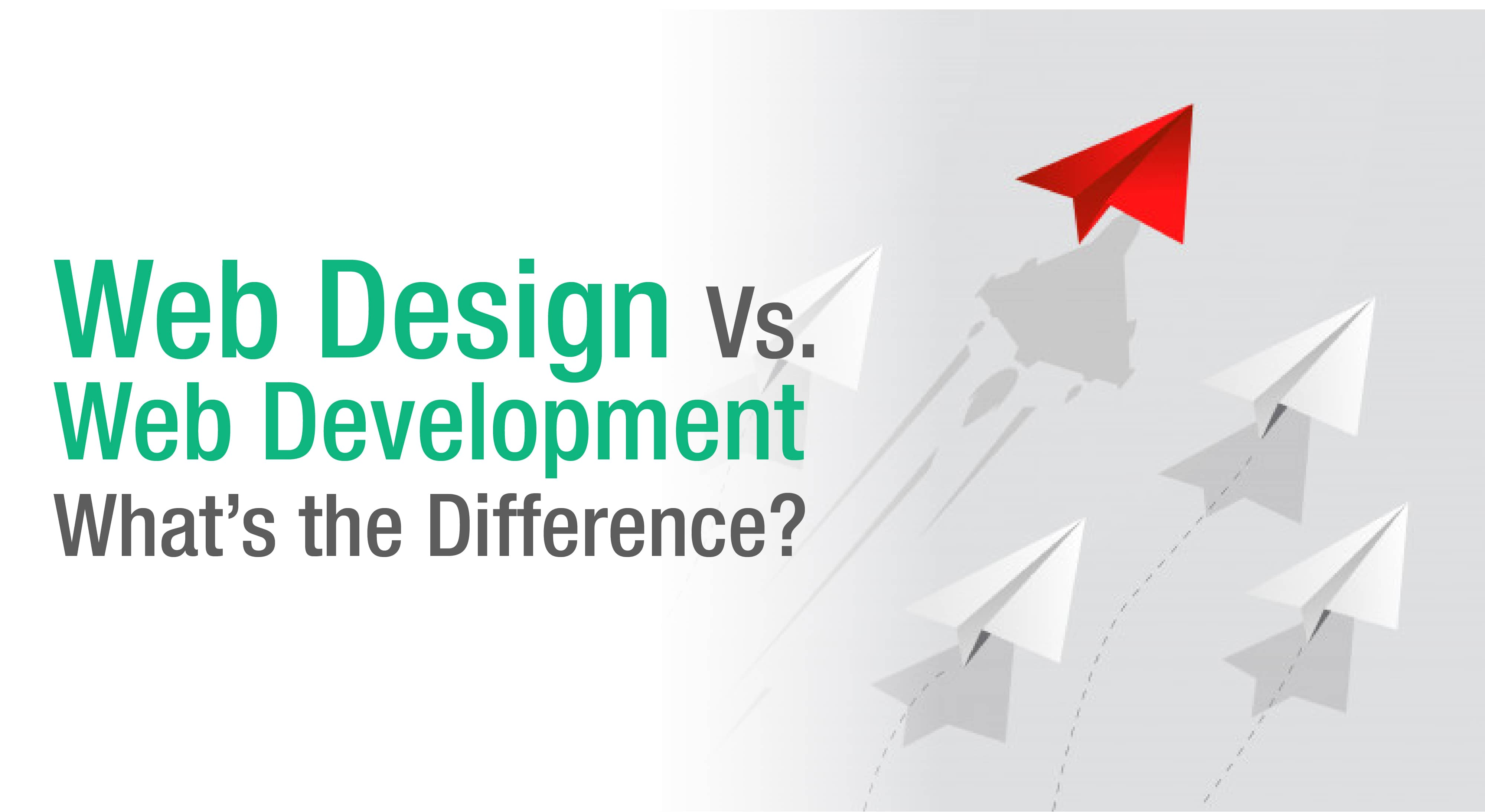 difference between web design vs web development