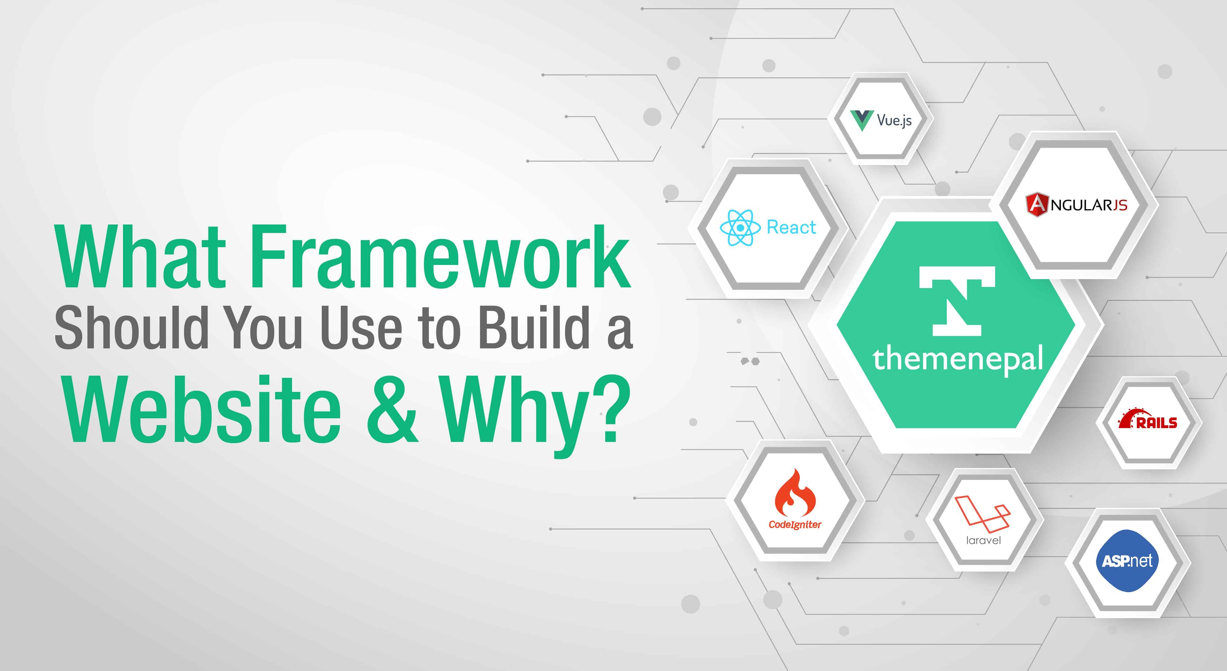 framework to develop website